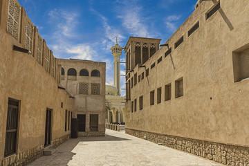 Bastakiya,Old Dubai ,United Arab Emirates