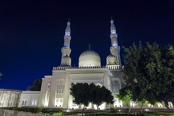 The Jumeirah Mosque in Dubai UAE