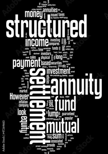 A Structured Settlement Annuity  Comparatively Speaking