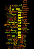 Cultural Inheritance s Influence to Indonesia s Abstract Woodcar poster