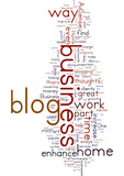Enhancing Your Part Time Home Business By Blogging poster