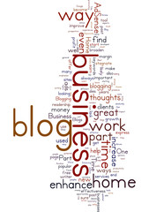 Enhancing Your Part Time Home Business By Blogging