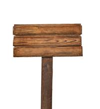 Komunikat w tle drewniany znak