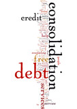 Free Debt Consolidation Services - Are There Any Risks Involved poster