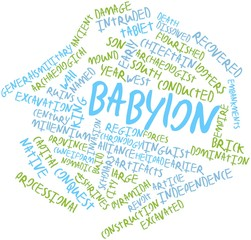 Word cloud for Babylon