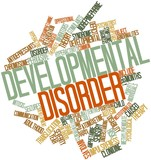 Word cloud for Developmental disorder