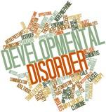 Word cloud for Developmental disorder poster
