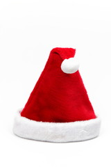 Santa hat, isolated on white