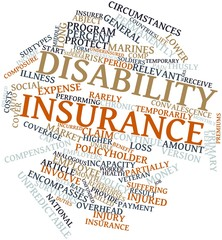 Word cloud for Disability insurance