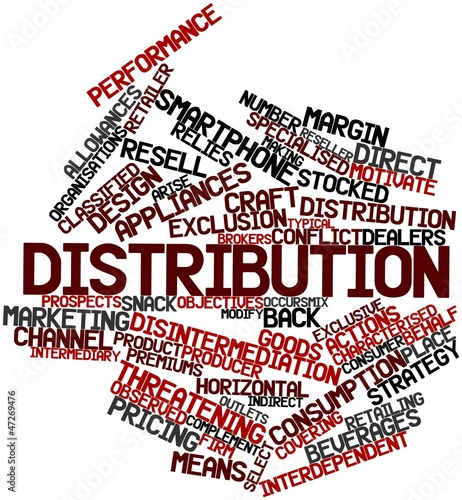 Word cloud for Distribution