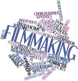 Word cloud for Filmmaking