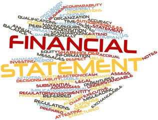 Word cloud for Financial statement
