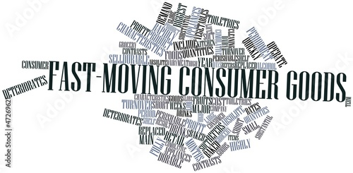 Word cloud for Fast-moving consumer goods