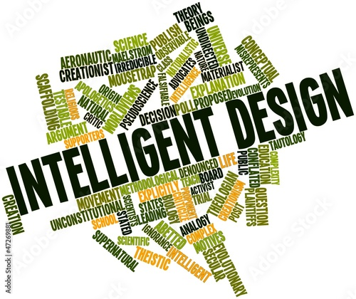 Word cloud for Intelligent design