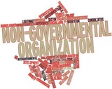 Word cloud for Non-governmental organization