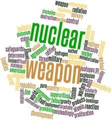 Word cloud for Nuclear weapon