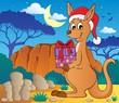 Christmas kangaroo theme image 2