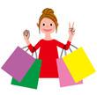 ショッピング 女性
