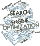 Word cloud for Search engine optimization