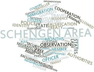 Word cloud for Schengen Area