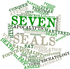 Word cloud for Seven seals