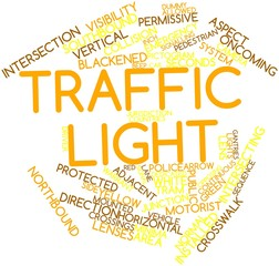 Word cloud for Traffic light
