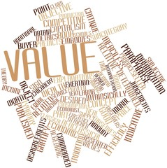 Word cloud for Value