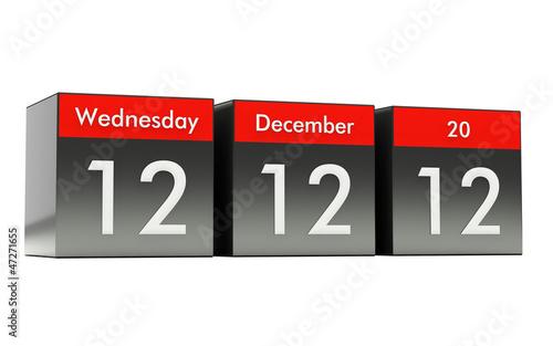 12 12 12 - Unique Day - Wednesday 12 December 2012