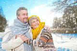 Fototapety rentner winter
