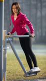 Woman exercising outdoor - 47272658