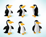 Six Penguins