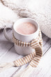 Leinwandbild Motiv Cup of cocoa