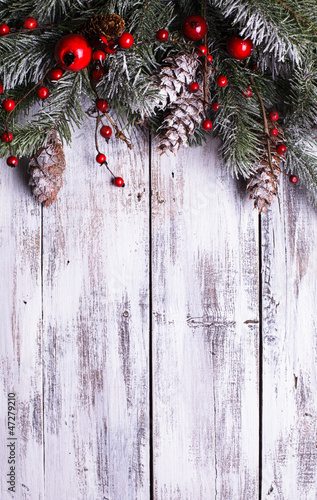 Christmas border design - 47279210
