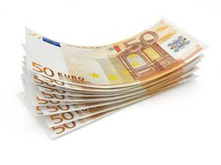 500 Euro in 50 Euro Scheinen