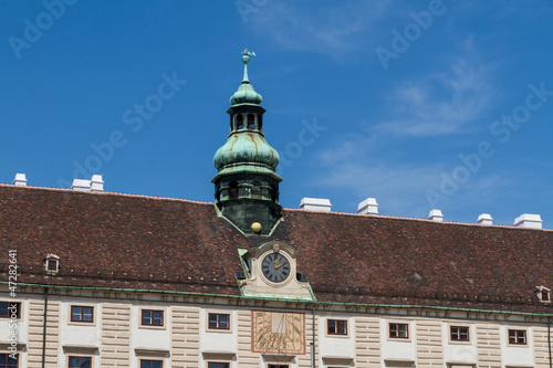 Hofburg palace and monument. Vienna.Austria.