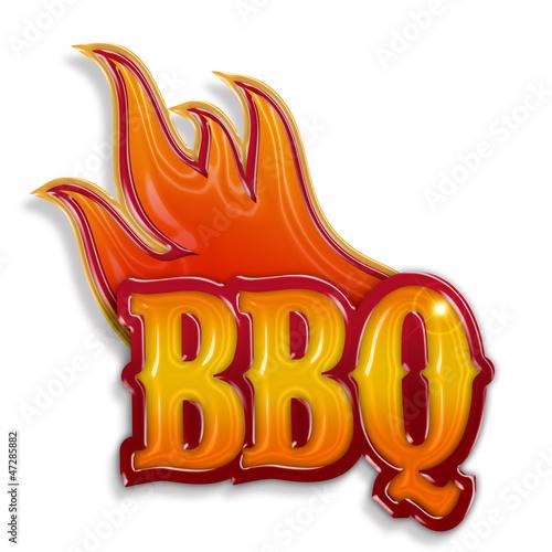 bbq label