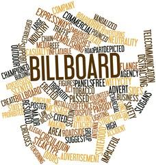 Word cloud for Billboard