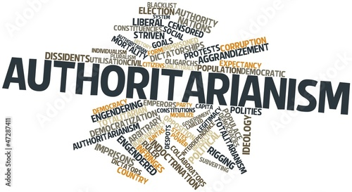 Word cloud for Authoritarianism