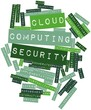 Word cloud for Cloud computing security