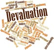 Word cloud for Devaluation