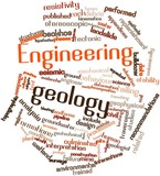 Word cloud for Engineering geology