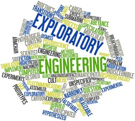 Word cloud for Exploratory engineering