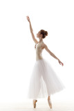 Fototapety sillhouette of ballerina