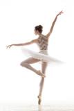 Fototapety silhouette of ballerina