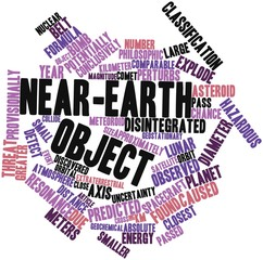 Word cloud for Near-Earth object