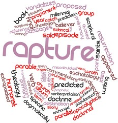 Word cloud for Rapture
