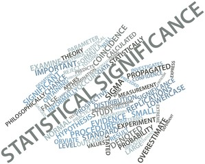 Word cloud for Statistical significance