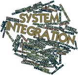 Word cloud for System integration