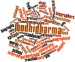 Word cloud for Bodhidharma