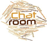 Word cloud for Chat room
